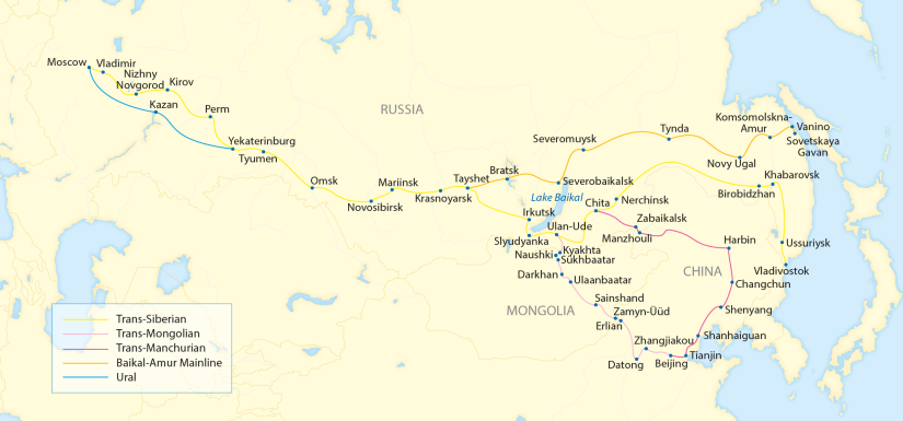 #3: The Trans-Siberian Is More than It Seems